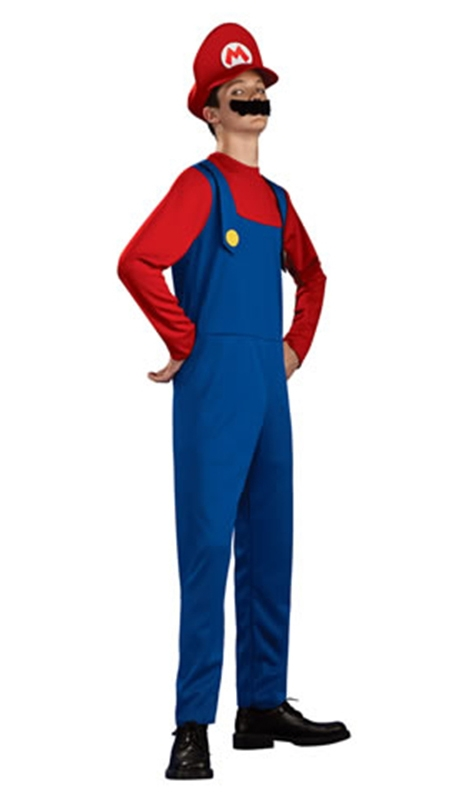 Mario Brothers Mario Teen Costume