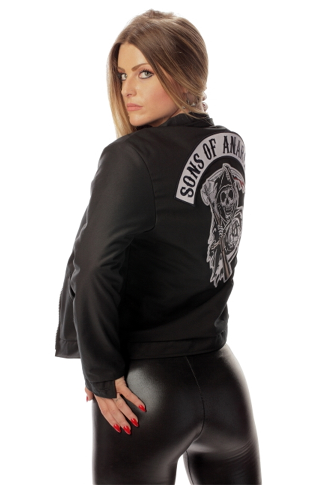 Image of Sons of Anarchy Adult Womens Mechanic Jacket