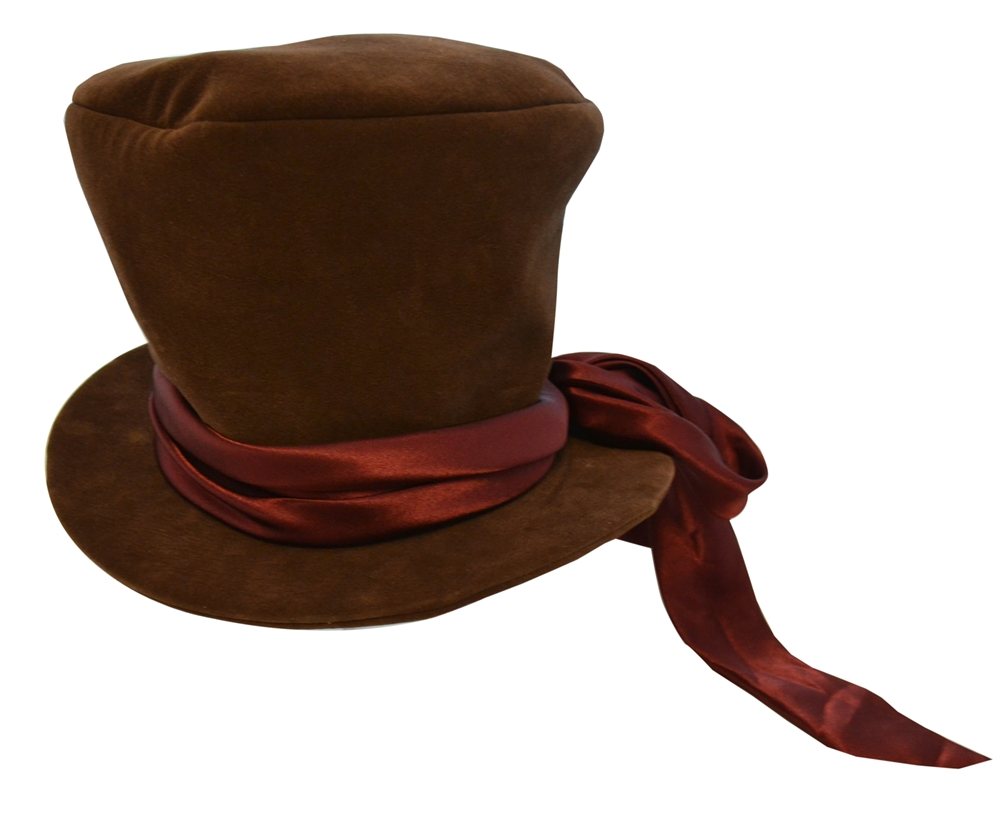 Mad Hatter Hat with Satin Bow Adult