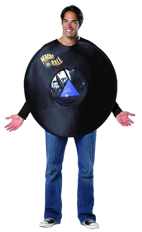 Magic 8 Ball Adult Costume