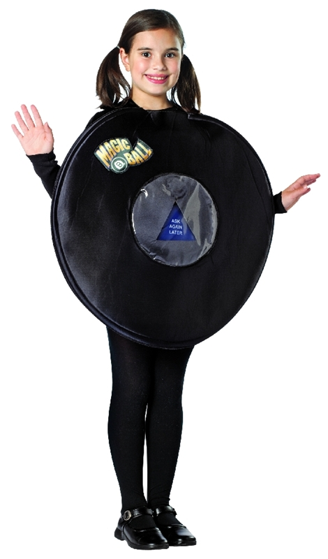 Magic 8 Ball Child Costume