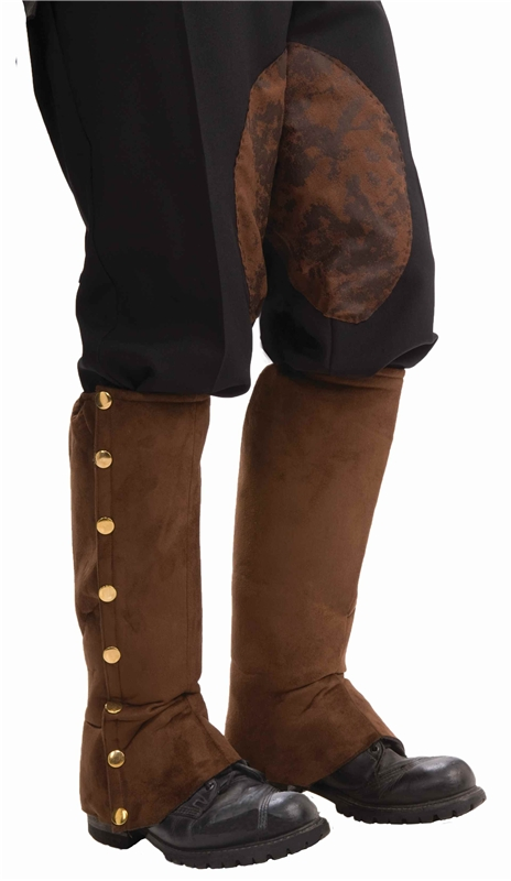 Brown Spats by Forum Novelties