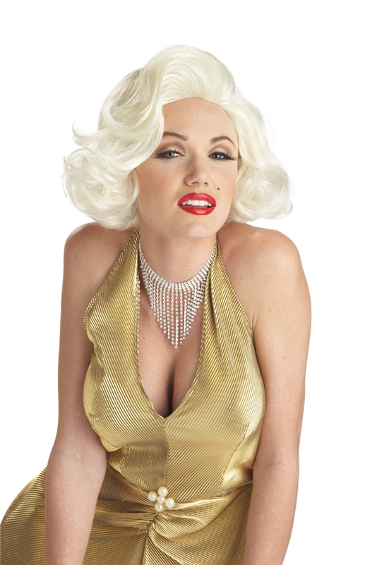 Image of Deluxe Marilyn Monroe Adult Wig
