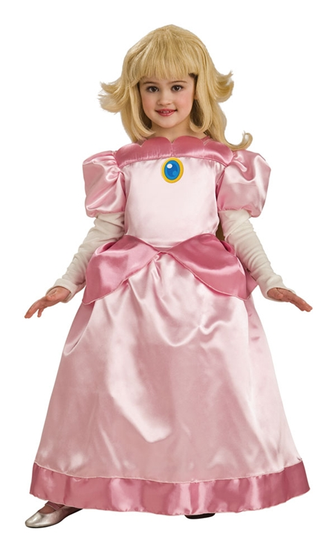 Deluxe Mario Brothers Princess Child Costume