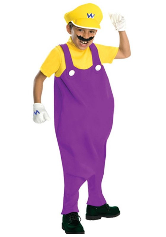 Deluxe Mario Brothers Wario Child Costume