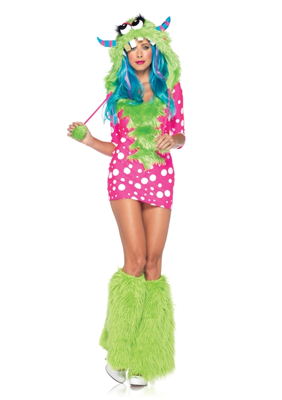 Melody Monster Adult Womens Sexy Costume