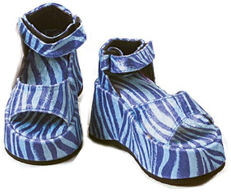 Deluxe Melody Platform Shoes Blue