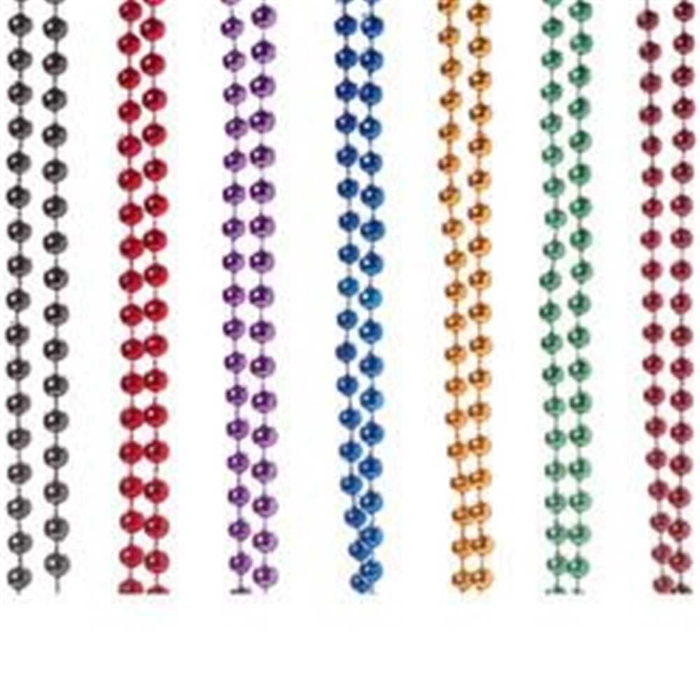 Image of Metallic Beads Necklace