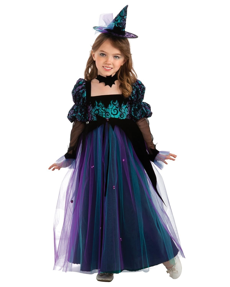 Midnight Crystal Witch Child Costume