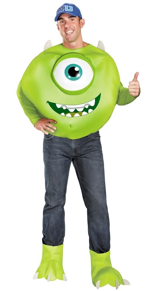 Monsters University Mike Deluxe Plus Size Adult Mens Costume