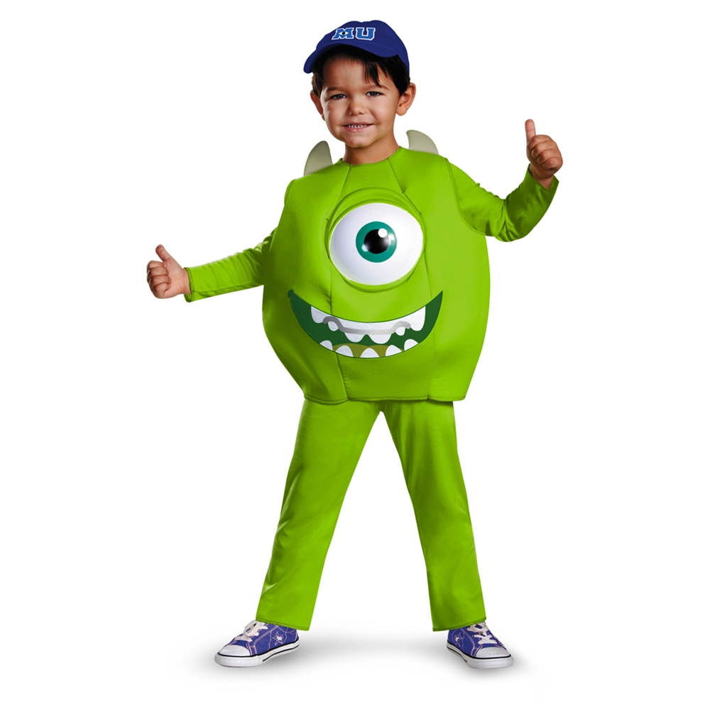Monsters University Mike Deluxe Toddler and Child Costume