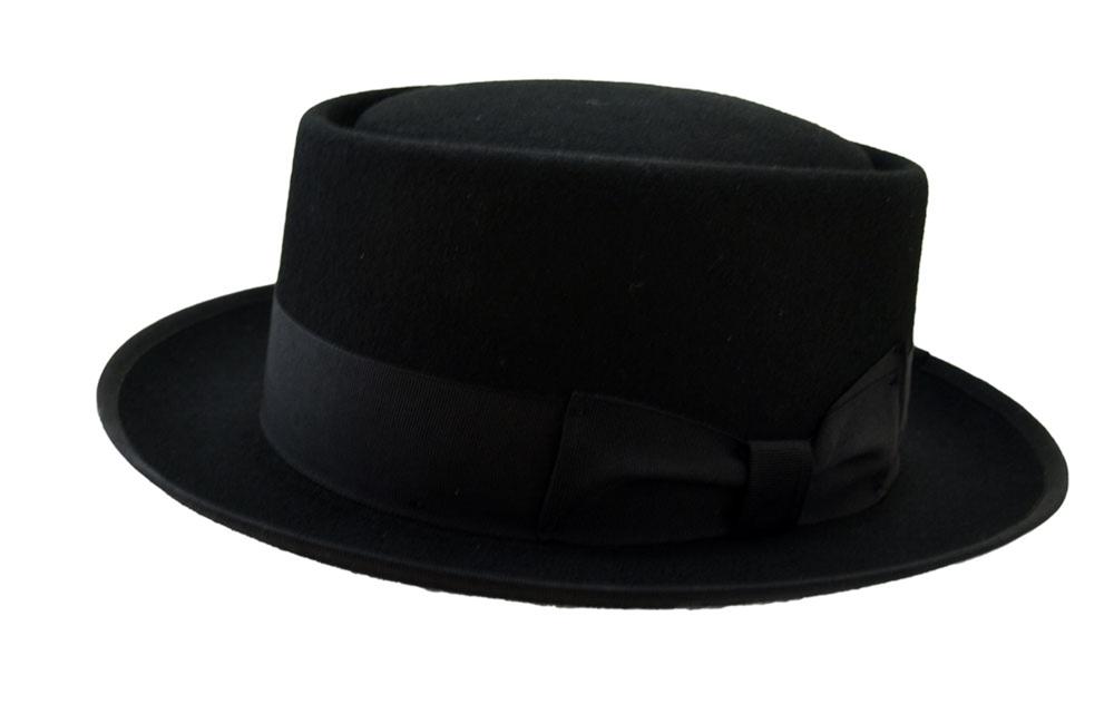 Image of Deluxe Wool Meth Lord Black Hat