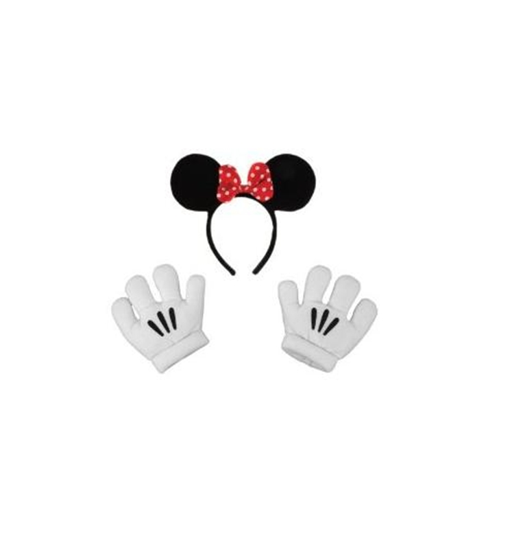 Minnie Ears/Glove Set by Elope