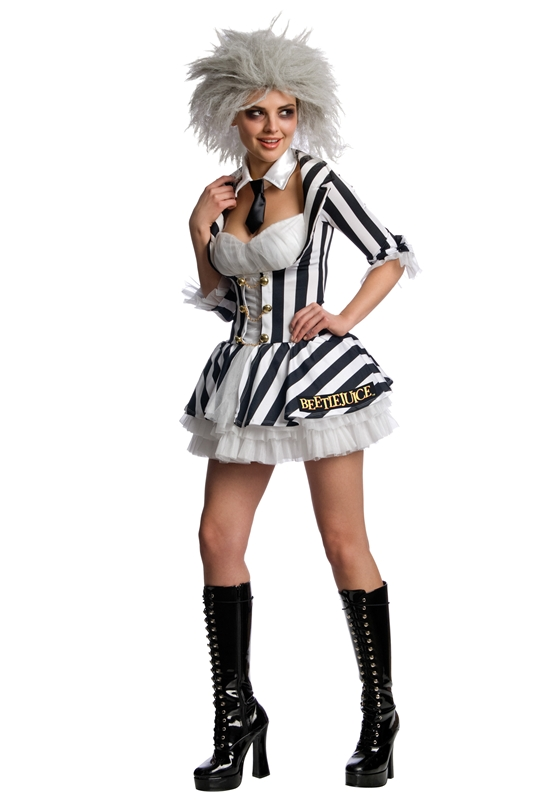 Miss Beetlejuice Adult Womens Costume