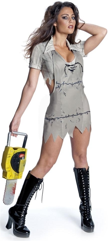 The Texas Chainsaw Massacre Miss Leatherface Adult Costume