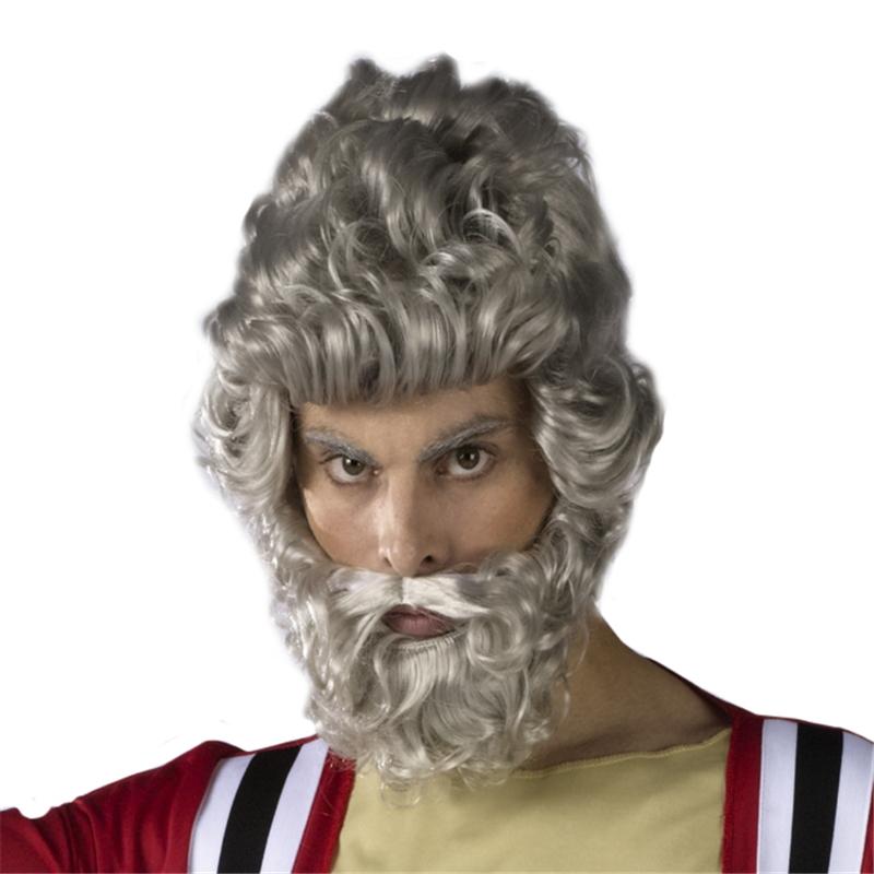 Moses Wig and Beard Set by Fun World