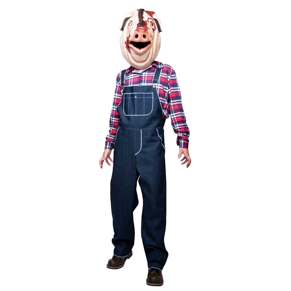 Motel Hell Pig Adult Men Costume