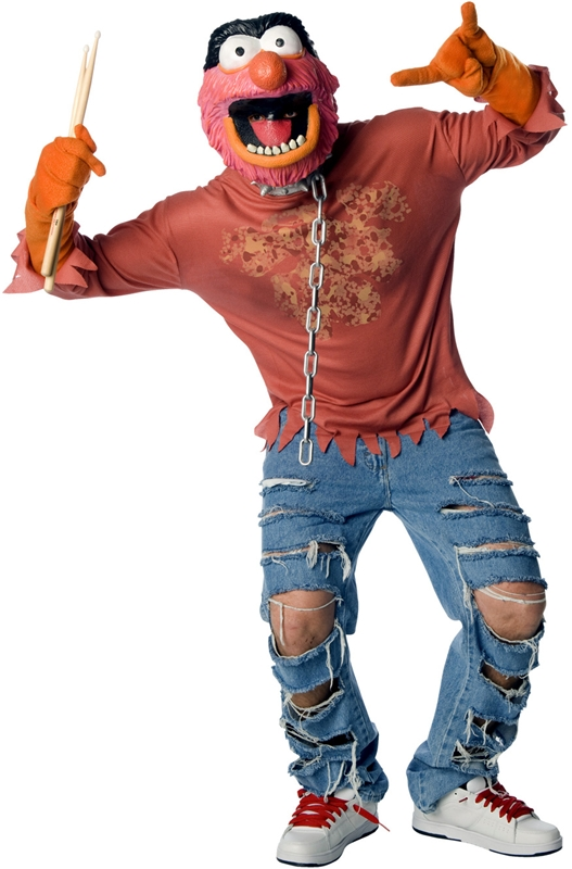 sc 1 st  Trendy Halloween & Muppets Animal Adult Mens Costume