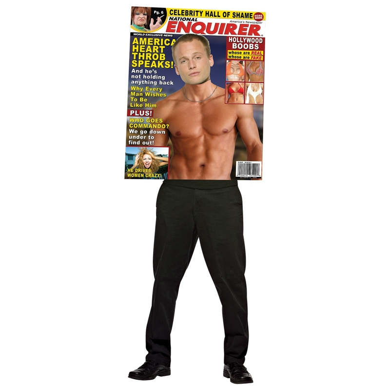 National Enquirer Hot Guy Adult Costume