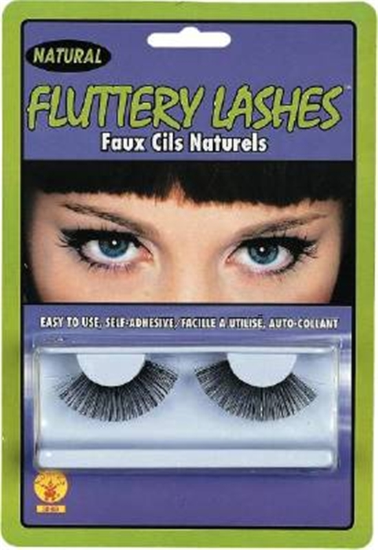 Natural Eyelashes Black