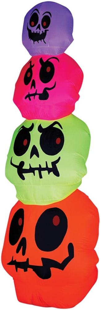 Neon Skulls Stack Airblown by Sunstar Industries Inc.
