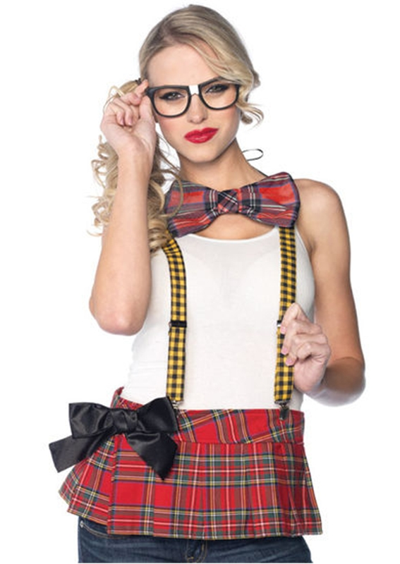 Nerd Adult Women Sexy Costume