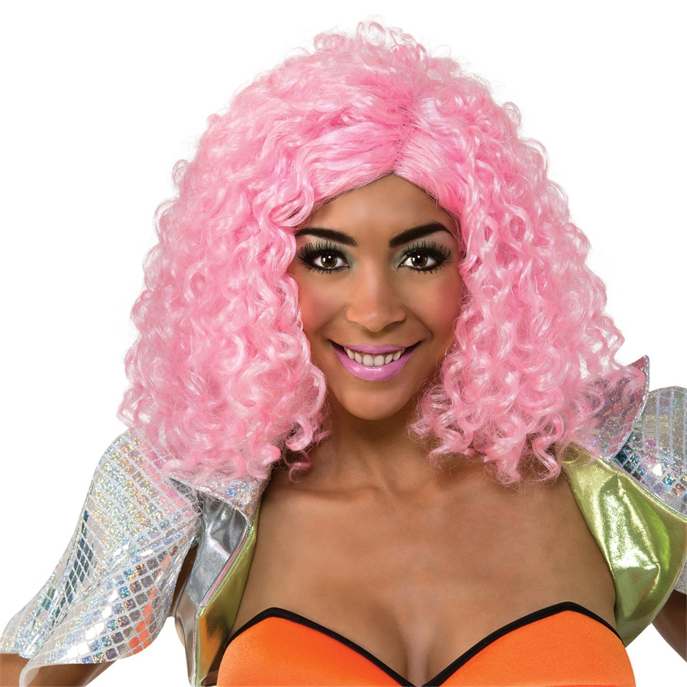 Nicki Minaj Pink Curly Wig (Ships for $1.99)