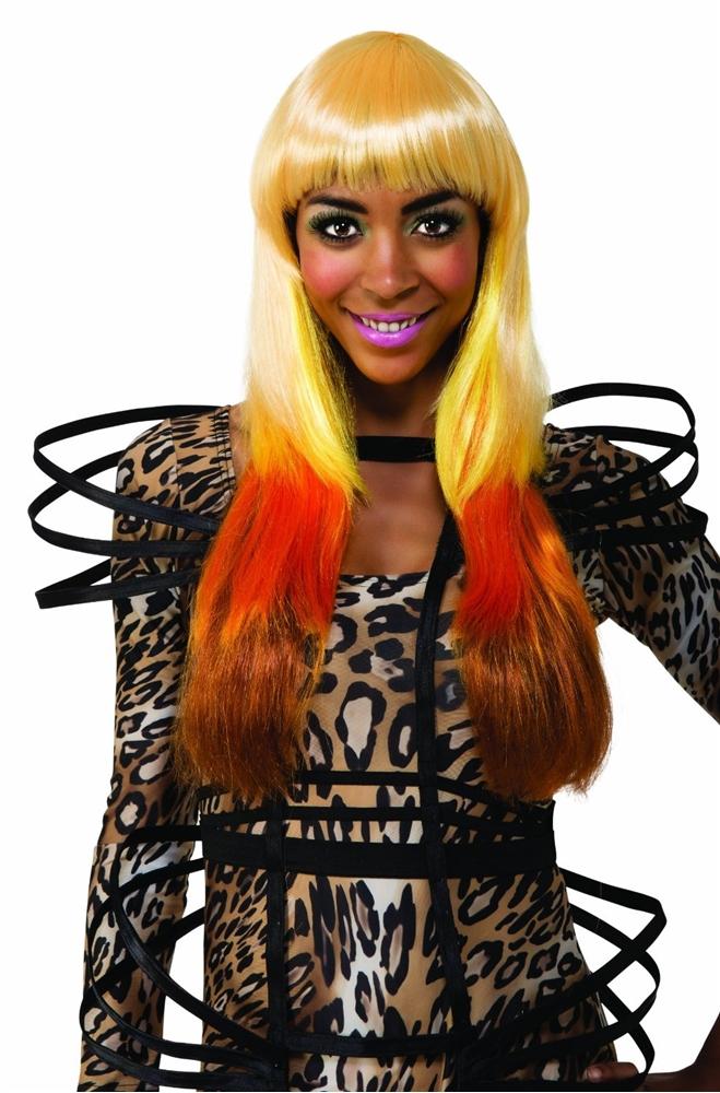 Nicki Minaj Leopard Wig