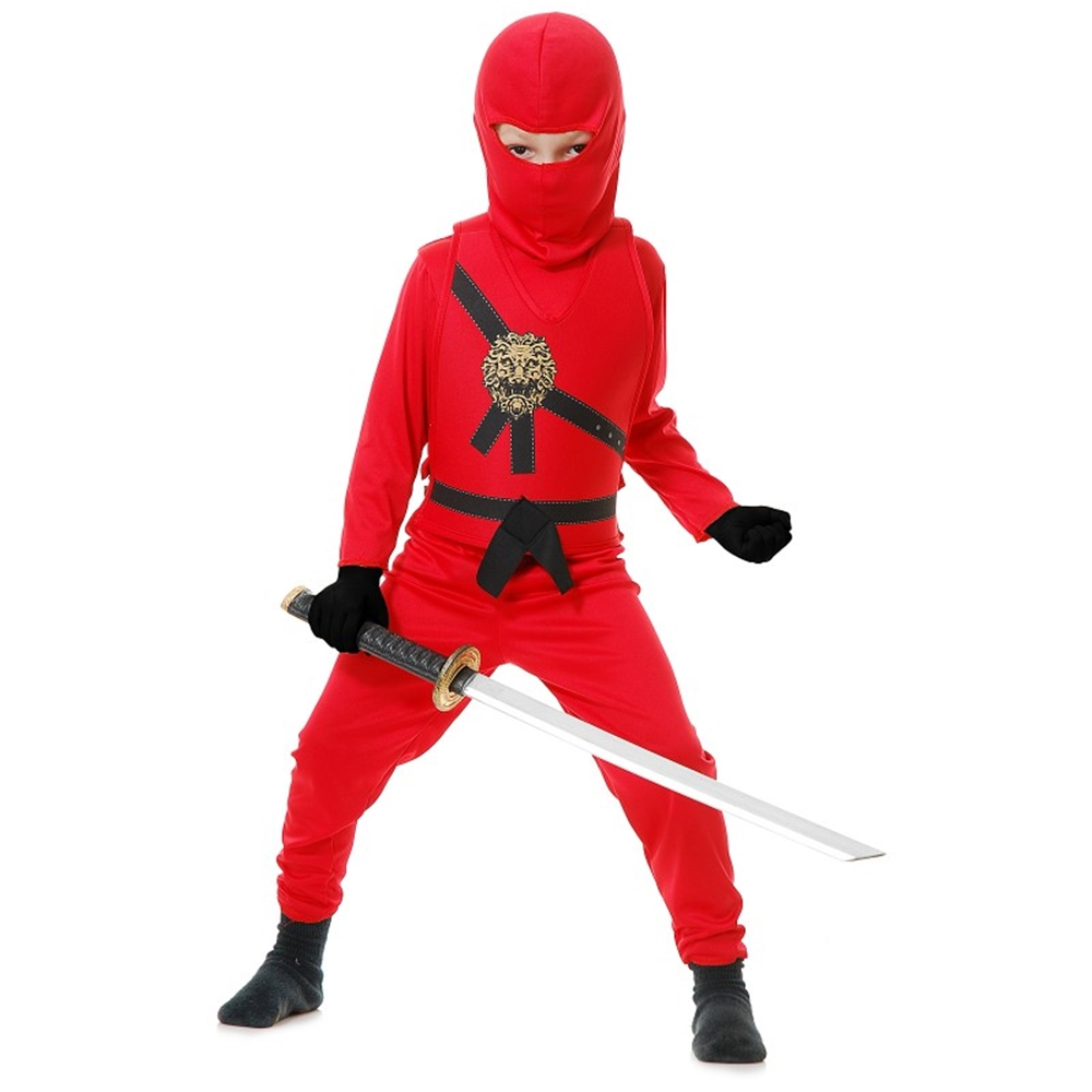 Ninja Avenger Series Red Child Costume