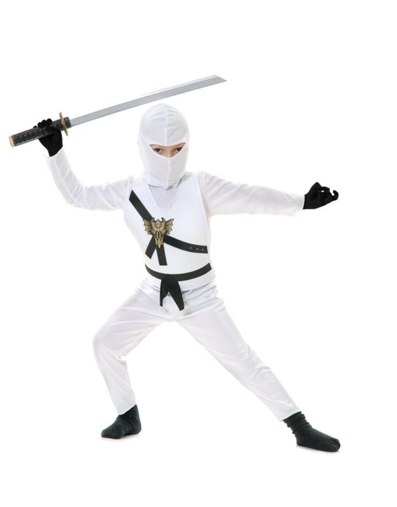 Image of Ninja Avenger Series White Child Costume