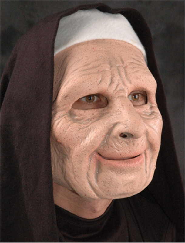 The Town Nun Adult Mask