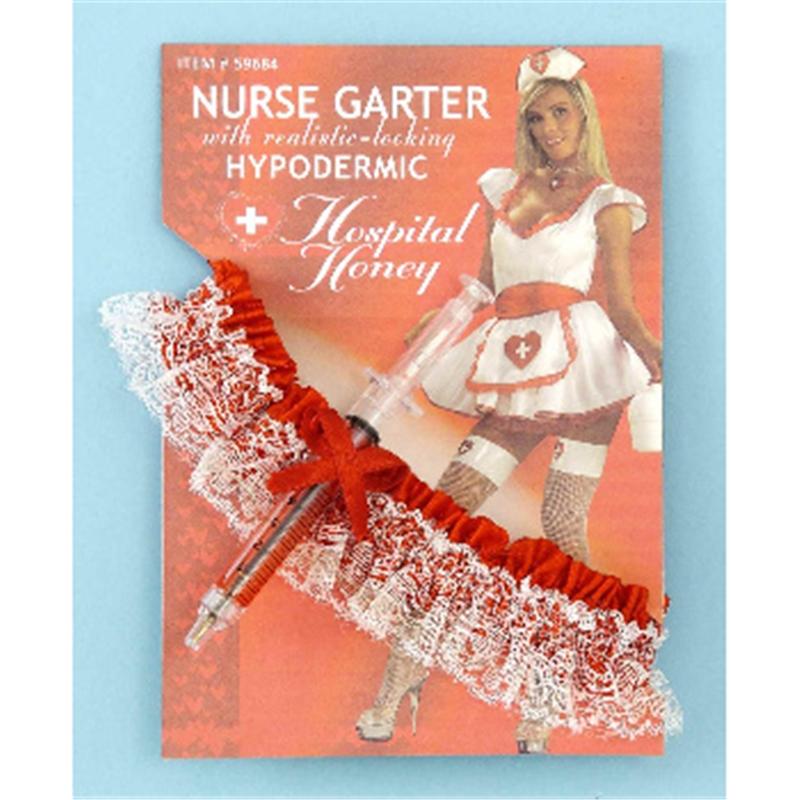 Nurse Garter With Hypodermic