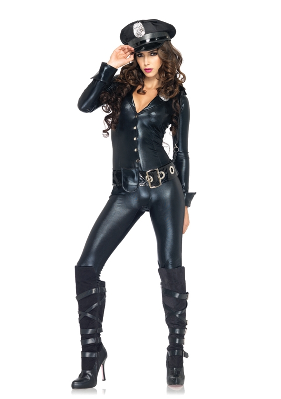 Officer Payne Jump Suit Womens Costume by Leg Avenue