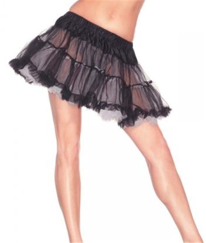 Black and White Reversible Petticoat