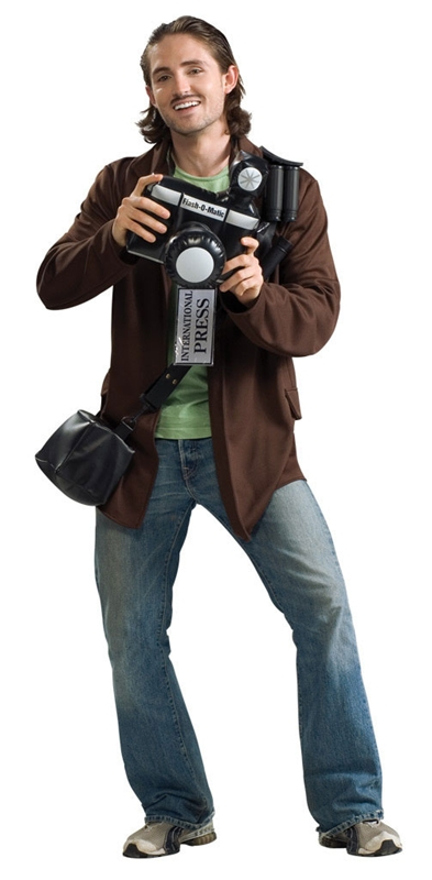 Image of Paparazzi Adult Mens Costume