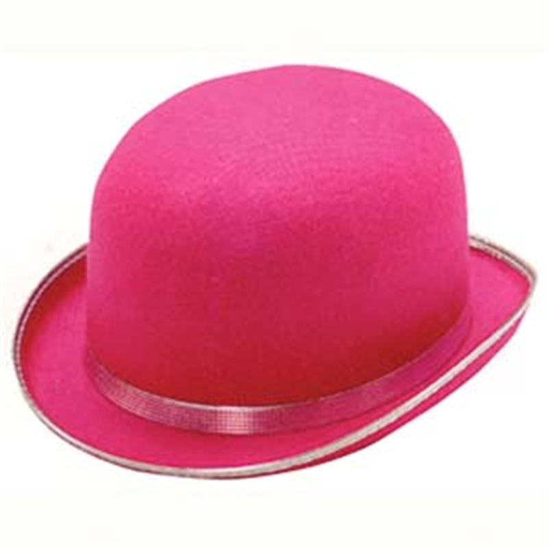 Pink Derby Adult Hat by Jacobson Hat Co
