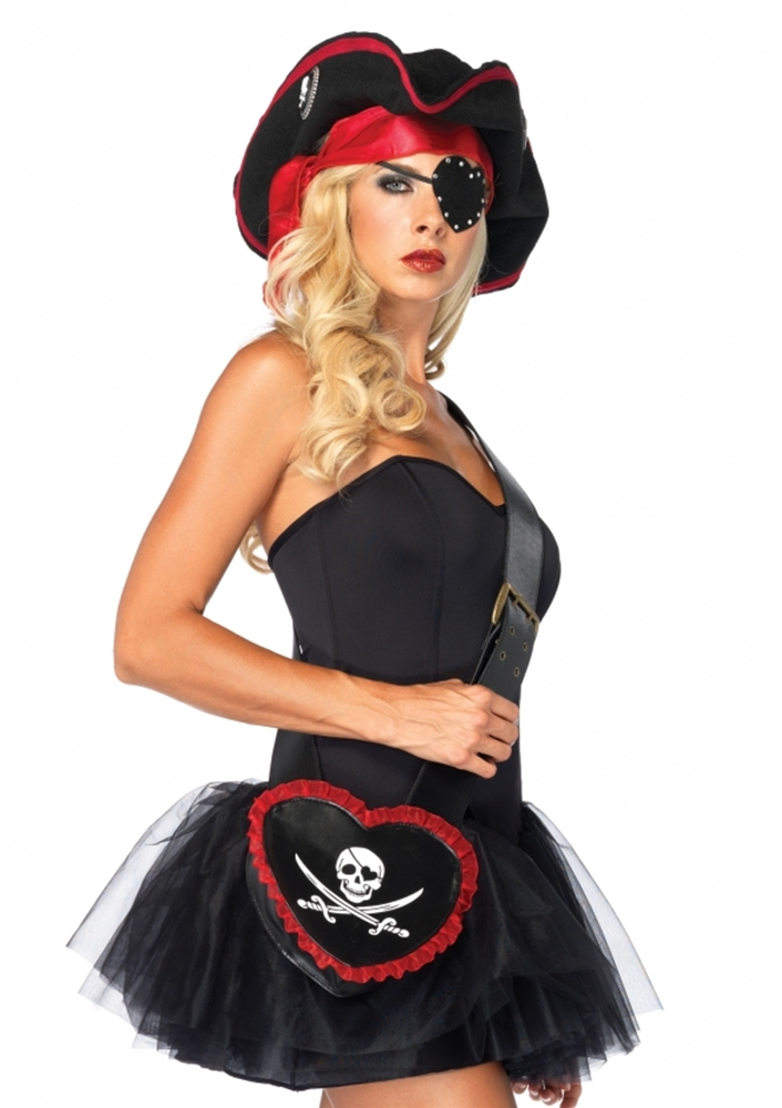 Pirate Heart Purse