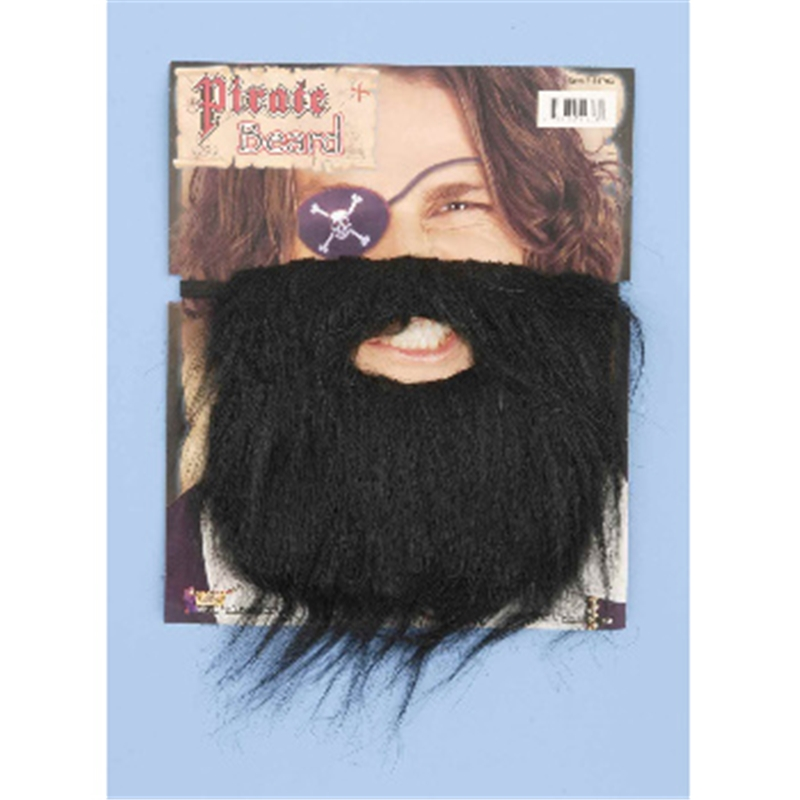 Pirate Beard Black by Forum Novelties