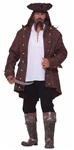 Pirate Captain Plus Size Adult Mens Costume