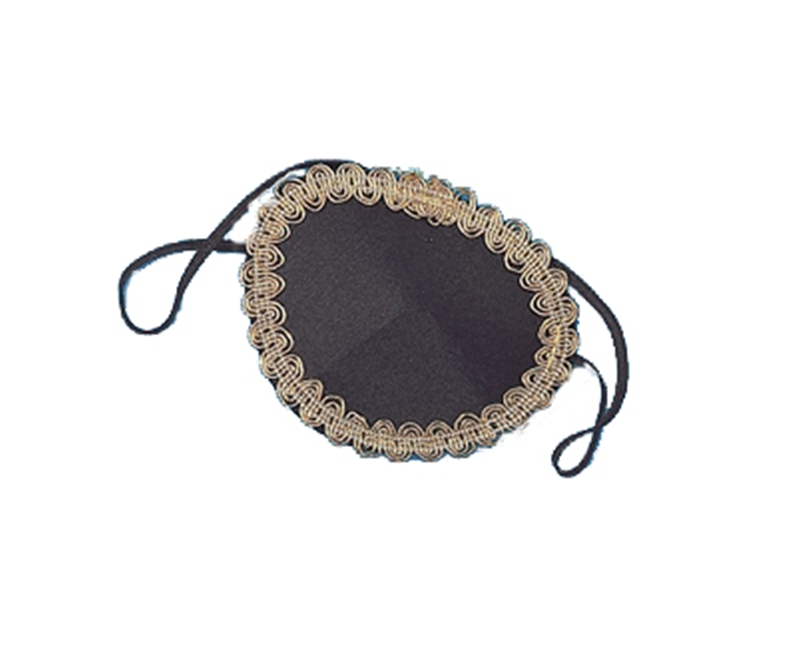 Pirate Eye Patch With Trim