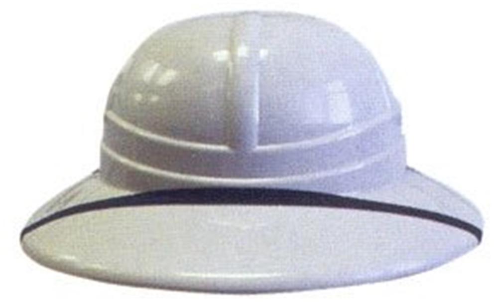 Plastic Pith Helmet