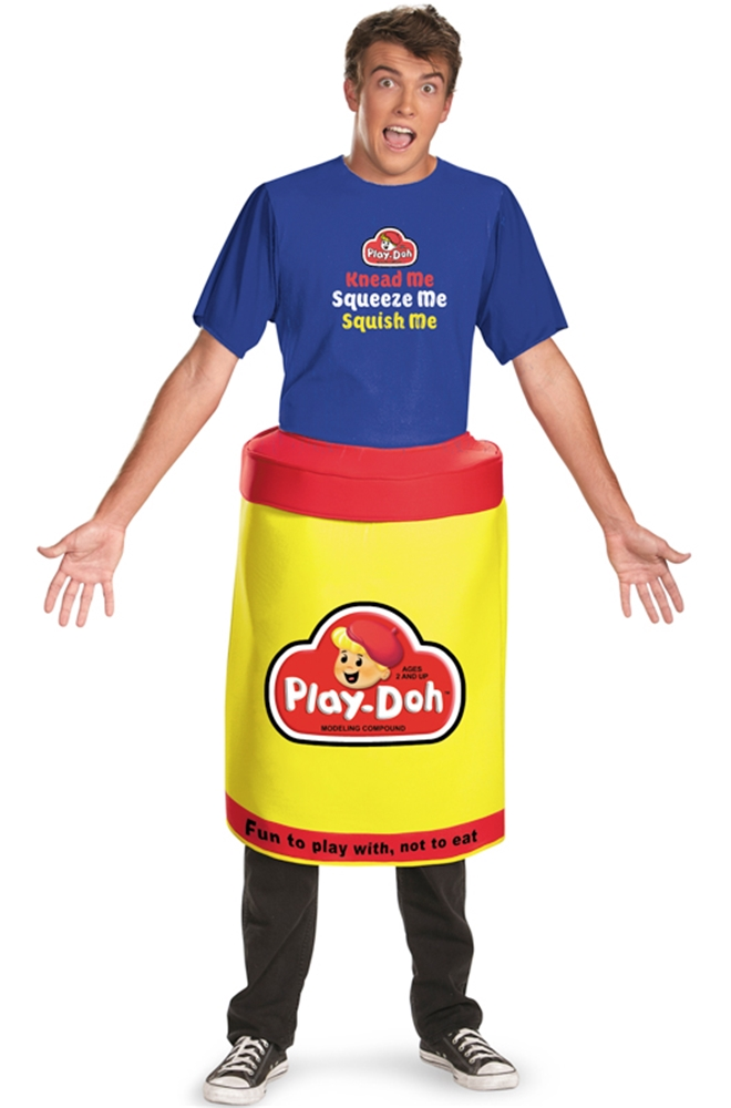 Play Doh Deluxe Adult Men Costume