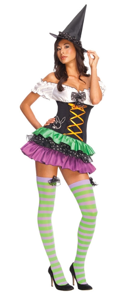 Playboy Sexy Witch Adult Womens Costume