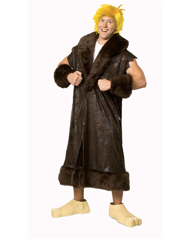 Barney Rubble The Flinstones Plus Size Adult Mens Costume