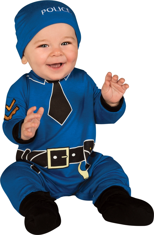Policeman Infant Costume by Rubies