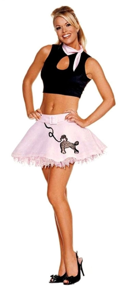 Poodle Skirt Sexy Costume ()