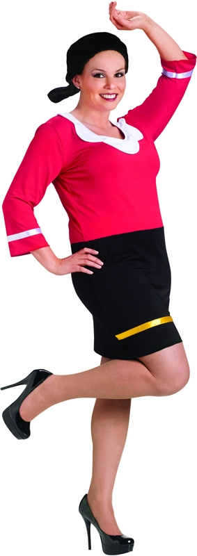 Popeye Sexy Olive Oyl Plus Size Adult Womens Costume