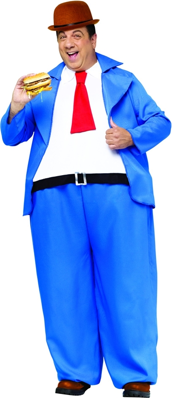 Popeye Wimpy Adult Men Costume