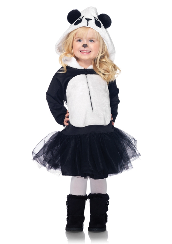 Precious Panda Toddler Girl Costume