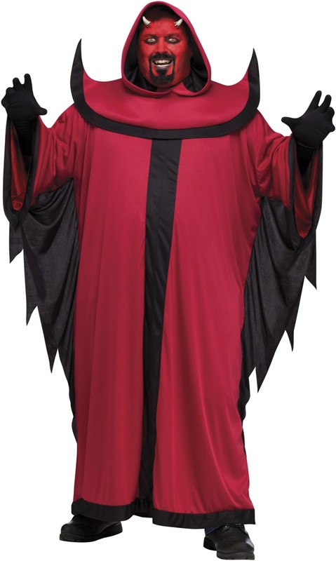 Prince of Darkness Adult Men Plus Costume by Fun World